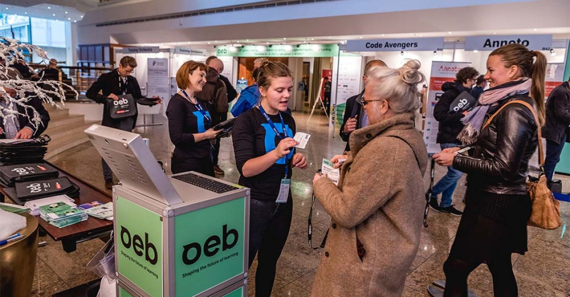 OEB - Global, cross-sector conference on technology supported learning + training