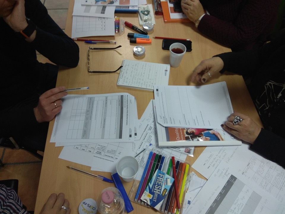 The QUAL4T2 project team is glad to notify you all that the Quality guide for teams, the toolkit for teams about Quality Culture and How to develop effective team year plans  and the Story book about teams in the pilot will be available on our project website www.qual4t-project.org  from 1 May 2019! Target groups are teams in vocational education and training.The materials are available in English, Dutch, Spanish, Greek, Italian Danish and German languages.The project outputs have been tested in a training course for team leaders and team members , organised in Rome in January 2019. The Training Programme itself is also a project output and it will be available in English language in our website. The training programme can be delivered as a five days course, or one can select training activities and deliver a shorter course, following the participants own needs. If you have any questions about using the products, please refer directly to one of the QUAL4T2 partners. We will be happy to help you out!This 2,5 year project has been funded under the EU ERASMUS+ PROGRAMME as a KA2 strategic partnership  from 11 November 2016 till 10 May- 2019.