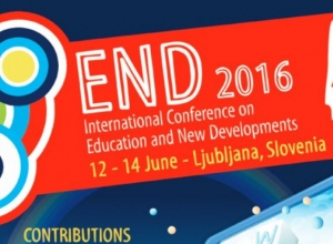 END 2016: International Conference on Education and New Developments