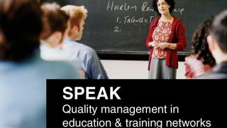 Quality management in education & training networks - SPEAK approach and tool