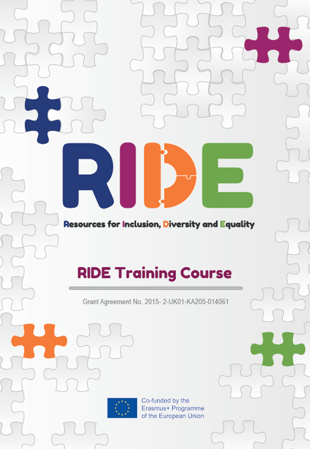 RIDE Training Resource - Training Course for youth workers