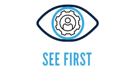 The See First logo