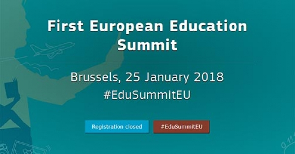 First European Education Summit - EU calls for Lifelong Learning initiatives