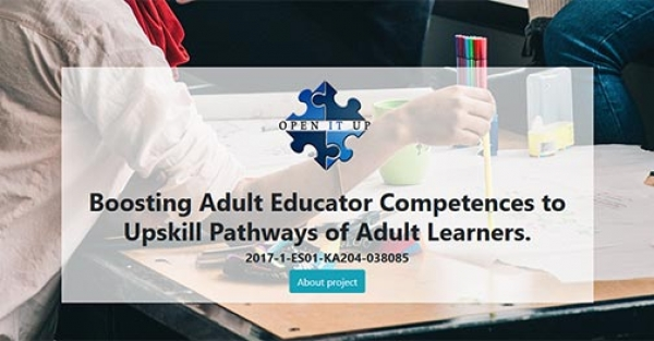 Boosting Adult Educator Competences to Upskill Pathways of Adult Learners - OpenITup